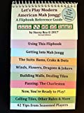 img - for Let's Play Modern American Mah Jongg! A Flipbook Reference Guide (Second Edition) book / textbook / text book