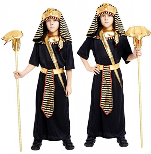 [Ponce Cosplay Halloween Costumes For Children Pharaoh] (Ancient Egypt Costumes)