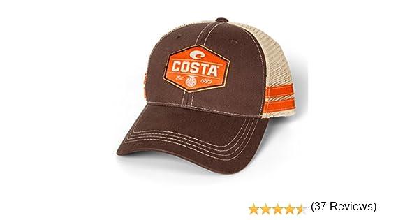 60c537b8b3e6d Amazon.com   Costa Del Mar Reel Trucker Hat