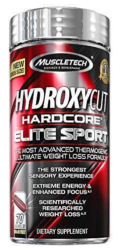 Hydroxycut Hardcore Elite Sport Capsules, 70 Count