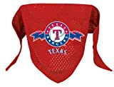 Texas Rangers Pet Dog Baseball Jersey Bandana M/L
