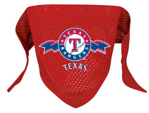 Hunter MFG Texas Rangers MLB Mesh Bandana for Dogs, Small