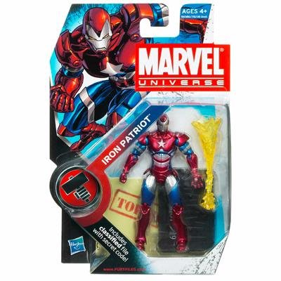 Marvel Universe 3 3 4 Inch Series 2 Action Figure Iron Patriot
