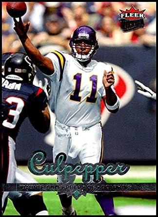 2006 Fleer Ultra  107 Daunte Culpepper NM-MT Miami Dolphins Official NFL  Football Card bce491fab