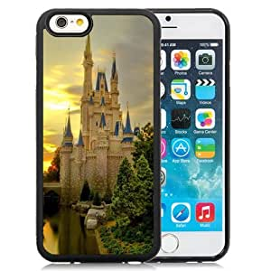 New Personalized Custom Designed For iPhone 6 4.7 Inch TPU Phone Case For Cinderella Castle Twilight Phone Case Cover