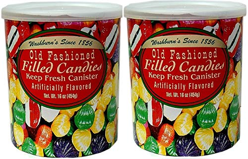 Candy Filled (Washburn's Old Fashioned Filled Candies 16 Oz. (2 Pack))