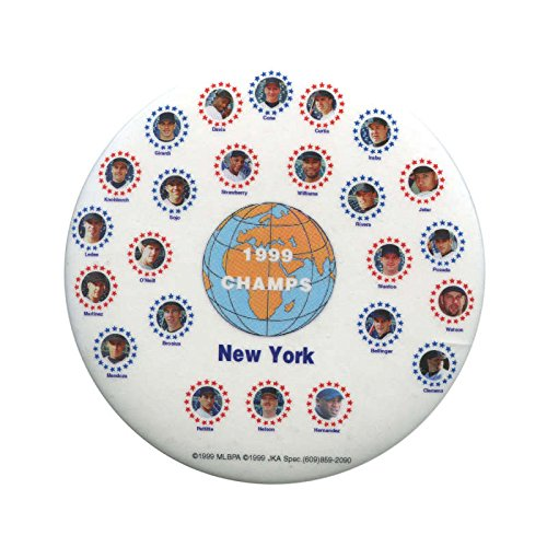 Perfect Game Silver Coin - 1999 New York Yankees World Series Champions Pin