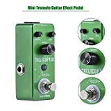ammoon Mini Tremolo Guitar Effect Pedal True Bypass Aluminum Alloy Body