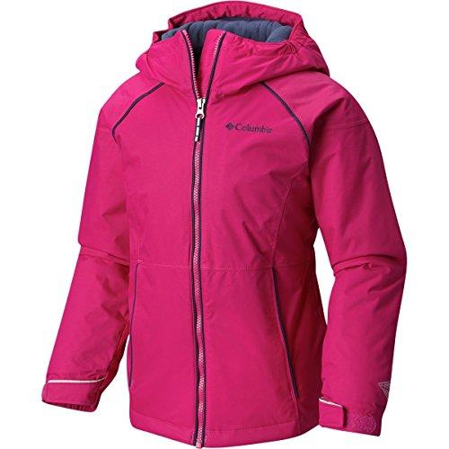 Columbia Girls Alpine Action ii Jacket, Deep Blush, Medium