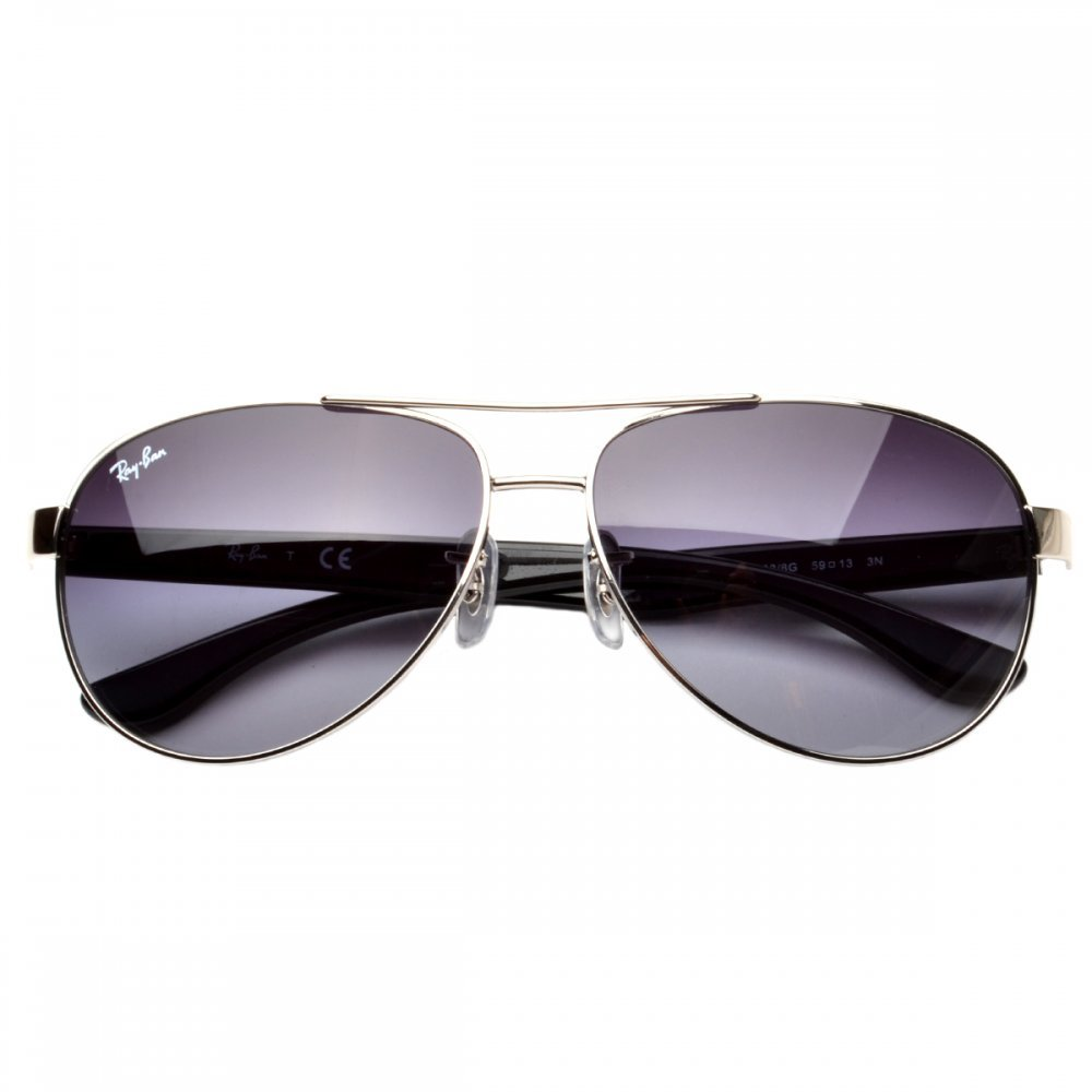 e73140d52a Amazon.com  Ray Ban RB3457 Metal Aviator 003 8G Gunmetal And Black with  Grey Gradient Lens  Shoes
