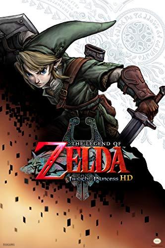 Pyramid America The Legend of Zelda Twilight Princess Logo Video Game Gaming Poster 12x18 inch