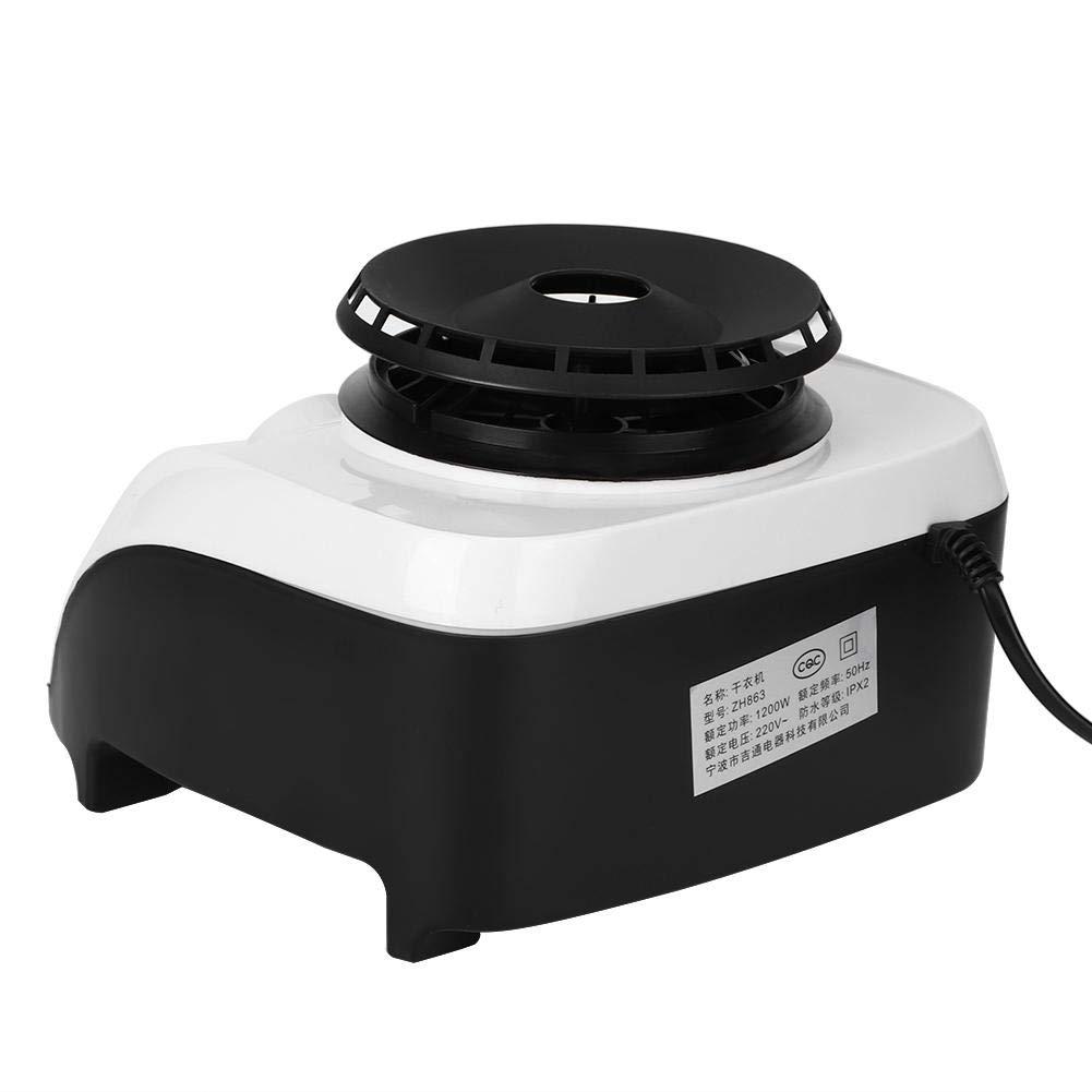 1200 W Hogar de Alta eficiencia Mute Secadora de Ropa Secadora el/éctrica M/áquina EU Plug 220V con Tanque Impermeable en Forma de V Secadora de Ropa sin deformaci/ón//Resistencia al Desgaste