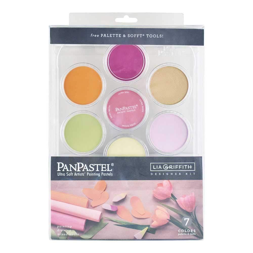 Colorfin, PanPastel Artists' Pastels, 7-Color Lia Griffith Designer Kit (30083) by Colorfin