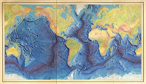 Map Poster - [Manuscript painting of Heezen-Tharp
