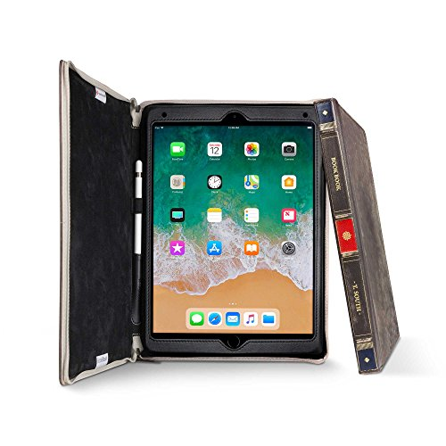Twelve South BookBook for iPad Pro 10.5 inch | Hardback Leather case, Apple Pencil Storage and Easel for iPad Pro by Twelve South