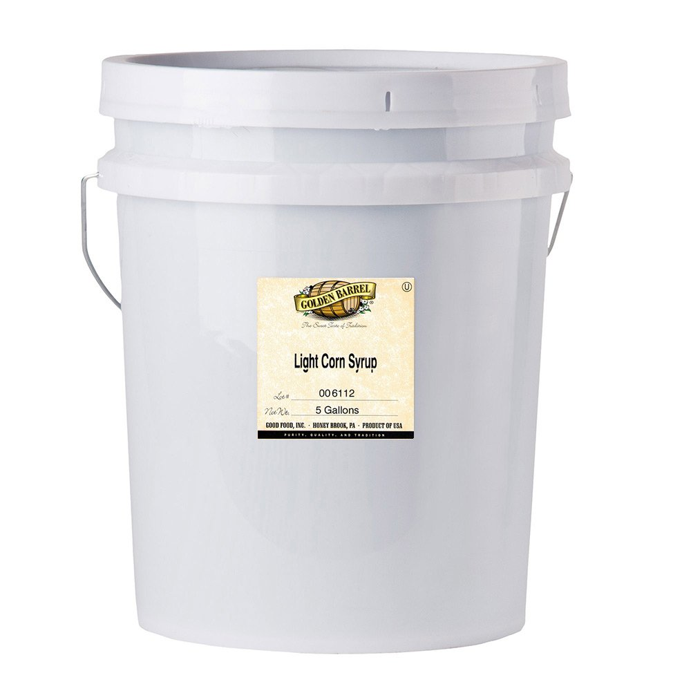 Golden Barrel Light Corn Syrup (5 Gallon Pail) by Golden Barrel