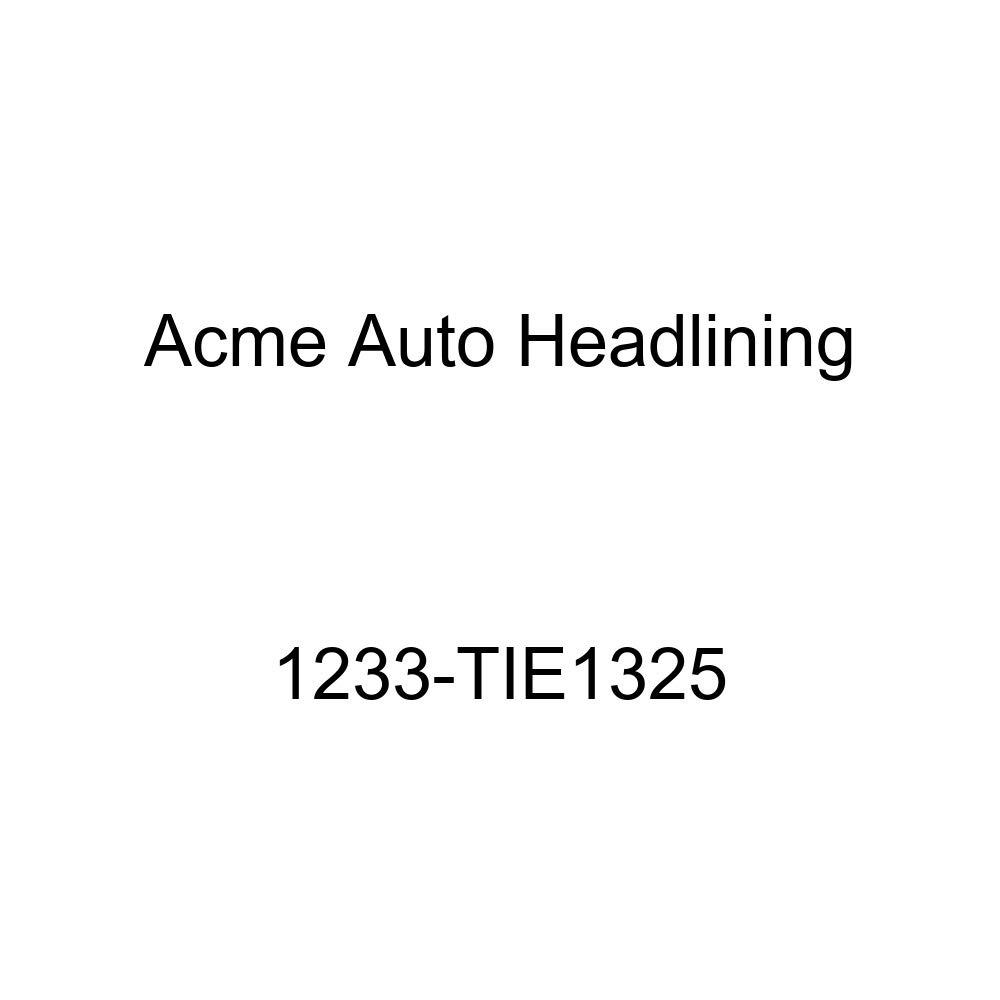 Acme Auto Headlining 1233-TIE1325 Green Replacement Headliner 1955 Oldsmobile Super 88 4 Dr Sedan Holiday Hardtop 7 Bow, 4 Chrome