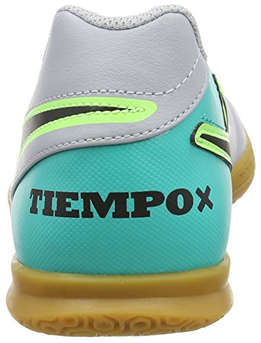 Nike 819234-307, Botas de Fútbol Hombre Gris (wolf Grey/black/clear Jade/metallic Silver)