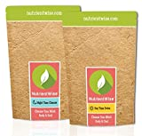 NUTRIENT WISE Official Detox Tea & Healthy Diet Plan - Natural Weight Loss Slimming Supplement & Appetite Suppressant - Ultimate Way To Calm & Cleanse Your Body by Nutrient Wise