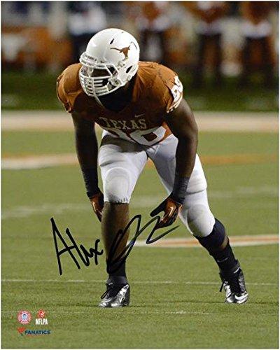 Alex Okafor Texas Longhorns Autographed 8