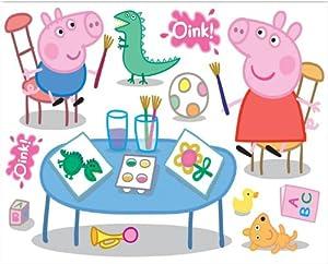 Fun4Walls Peppa Pig Maxi Repositionable Wall Stickers Part 14