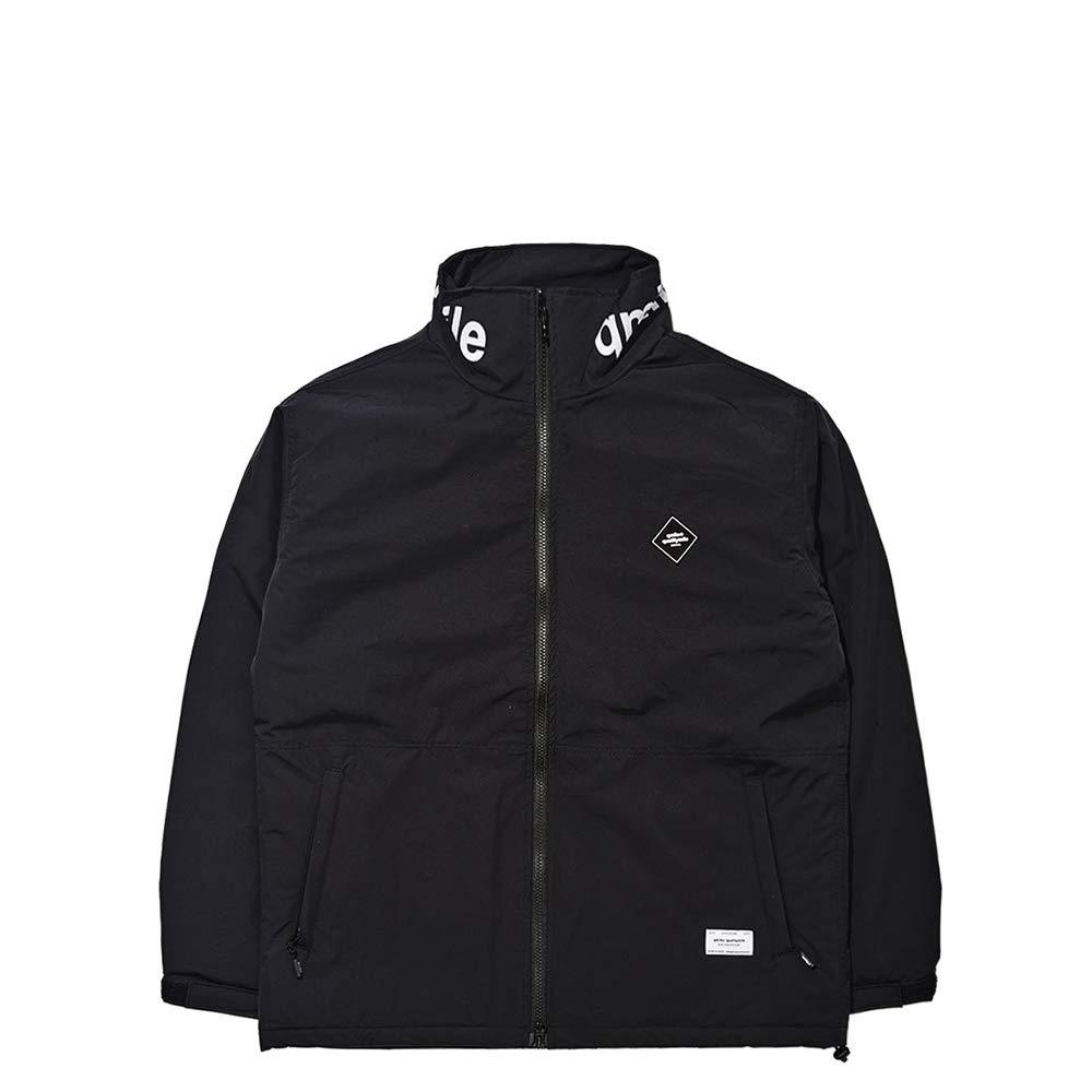[キュマイル]18-19年秋冬ユニセックススノーボードジャケット HOODLESS INSULATED JACKET [並行輸入品] ブラック Large