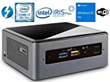 Intel NUC NUC8i7BEH Mini PC/HTPC, Intel Quad-Core i7-8559U Upto 4.5GHz, 32GB DDR4, 1TB SSD, WiFi, Bluetooth, Thunderbolt 3, 4k Support, Dual Monitor Capable, Windows 10 Pro (32GB Ram + 1TB SSD)