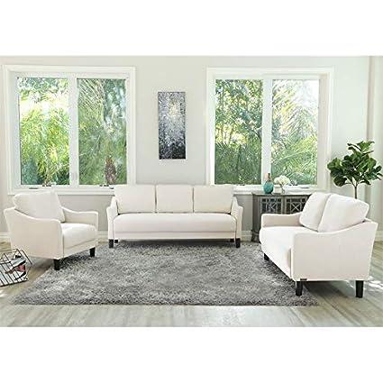 Amazon.com: Abbyson Living Elisiana Fabric Sofa- Loveseat ...