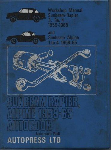(Sunbeam Rapier, Alpine 1959-69 Autobook)