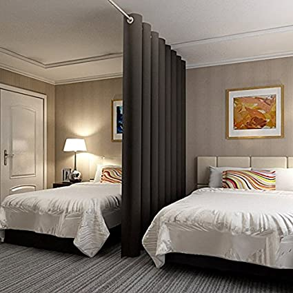Amazoncom RHF 125 x 8 Privacy Room Divider Curtain No one can