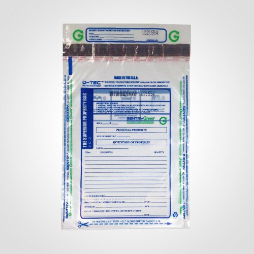 Superior Bag Property Bag 9-by-12 Inch Clear Plastic (Package of 100) Superior Bag Manufacturing 1023-P