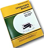 John Deere 9000 Series Grain Drill Operators Owners Manual 9300 9350 Fertilizer