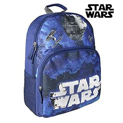 Cerdá Star Wars Sac à dos enfants, 40 cm, (azul)