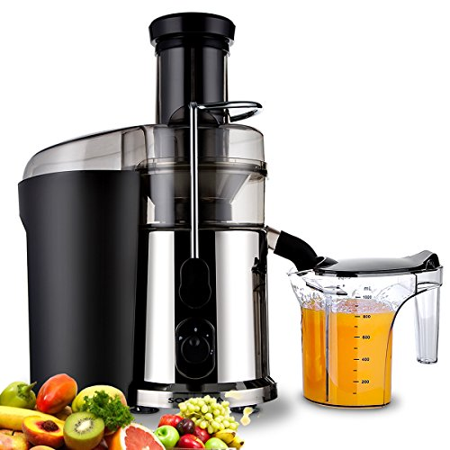 Juice Extractor, Citrus Juicer Centrifugal Juicer Electric Juicer Machine 850 Watt High Power Fruit and Vegetable Juicers for Apples, Lemon, Oranges, Carrots, Tomatoes Review