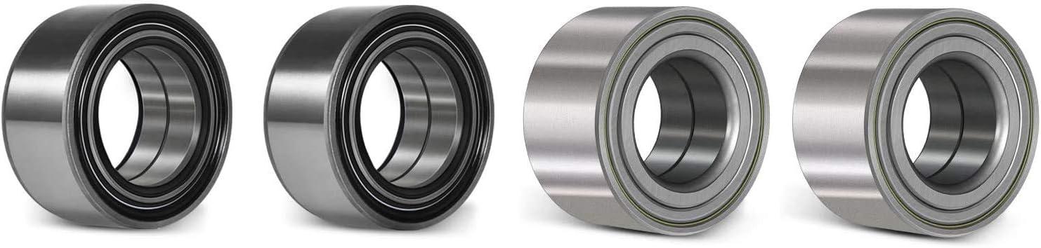 Front and Rear Wheel Ball Bearing Kit for Polaris Ranger 900 1000 XP Crew Diesel Base Wheel Bearings