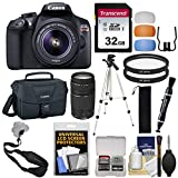Canon EOS Rebel T6 Wi-Fi Digital SLR Camera & EF-S 18-55mm is II & 75-300mm III Lens & Bag with 32GB Card + Tripod + Filters + Strap + Kit Review