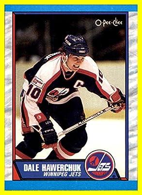 1989-90 O-Pee-Chee #122 Dale Hawerchuk WINNIPEG JETS