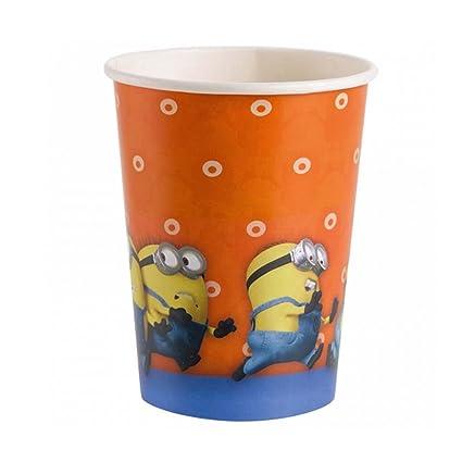 Amakando Copas Fiesta temática Minions 8 Vaso de cartón ...