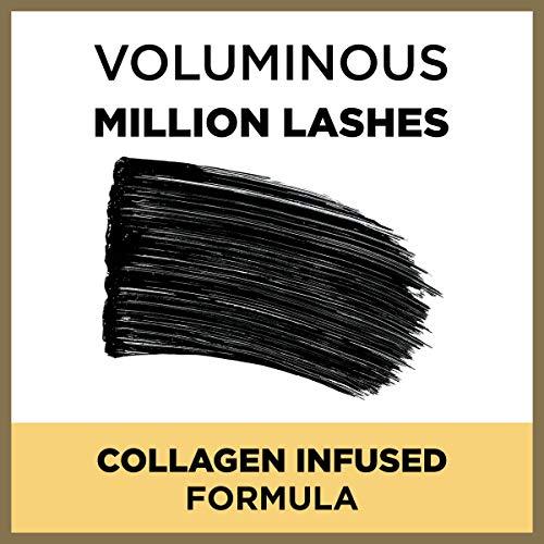L'Oreal Paris Makeup Voluminous Million Lashes Mascara, Black, 1 Tube