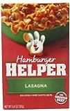 Hamburger Helper, Lasagna, 6.4-Ounce Boxes (Pack of 6)
