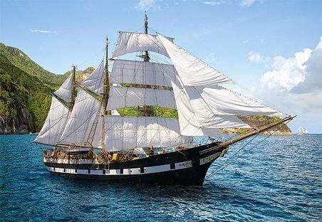 Segelschiffe auf dem meer  PUZZLE 500 Teile - Segelschiff - Schiff Meer Boot Kinder Bild ...