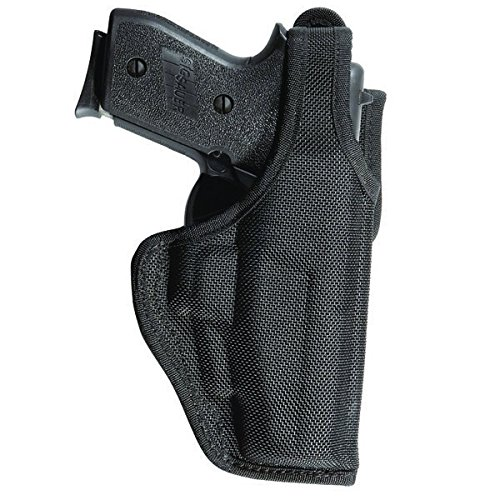 Bianchi Accumold Black Holster 7120 Defender Size - 13B Glock 20/21 with Rails (Right Hand)
