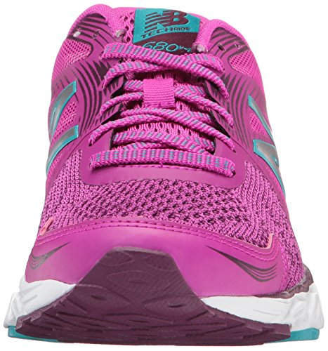 New Balance 680, Scarpe Sportive Indoor Donna Rosa (Berry)