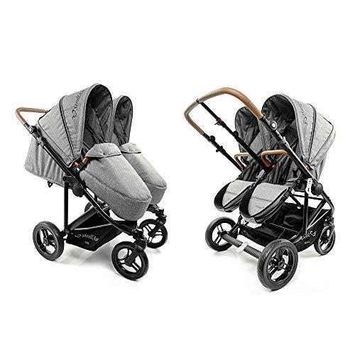 StrollAir Twin Way The Best Twin Stroller/Double Stroller Side by Side