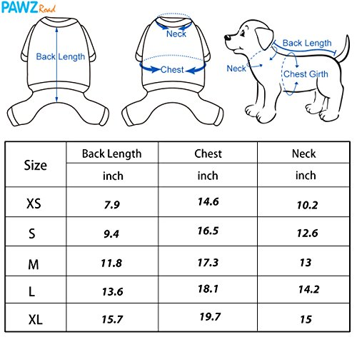 PAWZ Road Pet Clothes Hoodie Dog Winter Coat Warm Jacket Super Warm and Strong Orange S by PAWZ Road (Image #3)