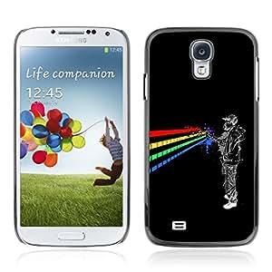 CASETOPIA / Astronaut Rainbow / Samsung Galaxy S4 I9500 / Prima Delgada SLIM Casa Carcasa Funda Case Bandera Cover Armor Shell PC / Aliminium