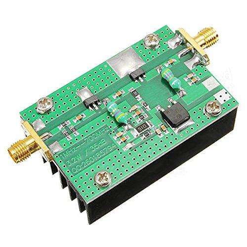 Toogoo 1MHz-700MHZ 3.2W HF VHF UHF FM Transmitter RF Power Amplifier For Ham (Amplifier Ham Radio)