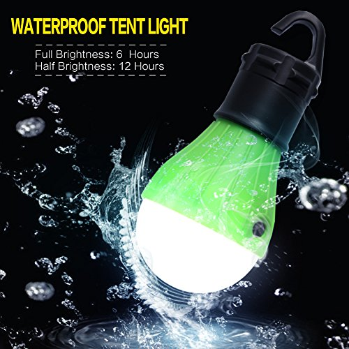 PeakAttacke Outdoor Camping Lantern Portable Waterproof LED Tent Light for Hiking, Emergencies