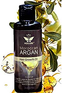 Amazon.com: PEECURE Moroccan Argan Hair Fall Treatment ...
