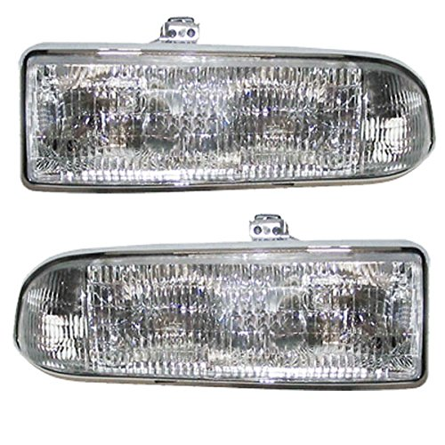 NEW Chevy S-10 Truck Headlight Headlamp Head Light Lamp Left Right Side SET PAIR